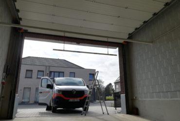 plaatsen hoogtebegrenzer ondergrondse garage
